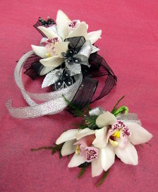 Orchid corsages and boutonnieres from Artistic Designs by Brenda